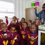 Lukhanyiso Educare Centre kitchen launch Breadline Africa