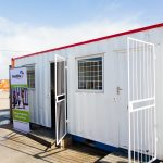 Arise and Shine Educare Centre combination kitchen/office container